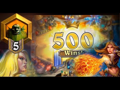 Hearthstone Golden Mage | Celebrating with 10 card packs