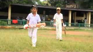Little cricketers in sri lanka