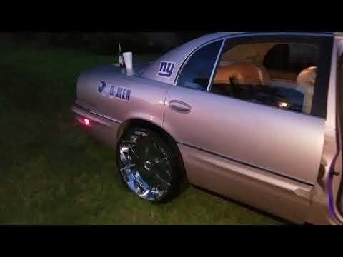 1997 Buick Park Avenue 22 Inch Rims Rockford Fosgate Stereo Custom