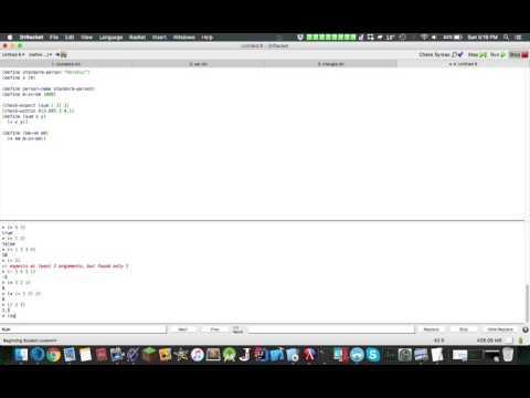 Functional Programming (Racket): Built-In Functions & Unit Tests