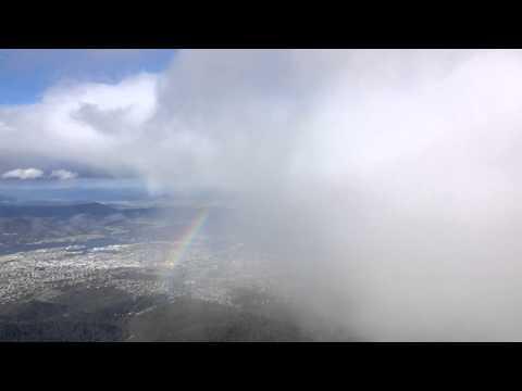 Summer Snow - Mount Wellington / kunanyi - Tasmania, Australia