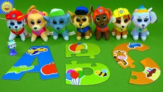 Best Learning Videos For Kids Paw Patrol Toys Teaching Abc