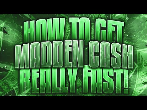 HOW TO GET MADDEN CASH VERY FAST IN MADDEN MOBILE 18 ( BUYING A BUNDLE FOR FREE)