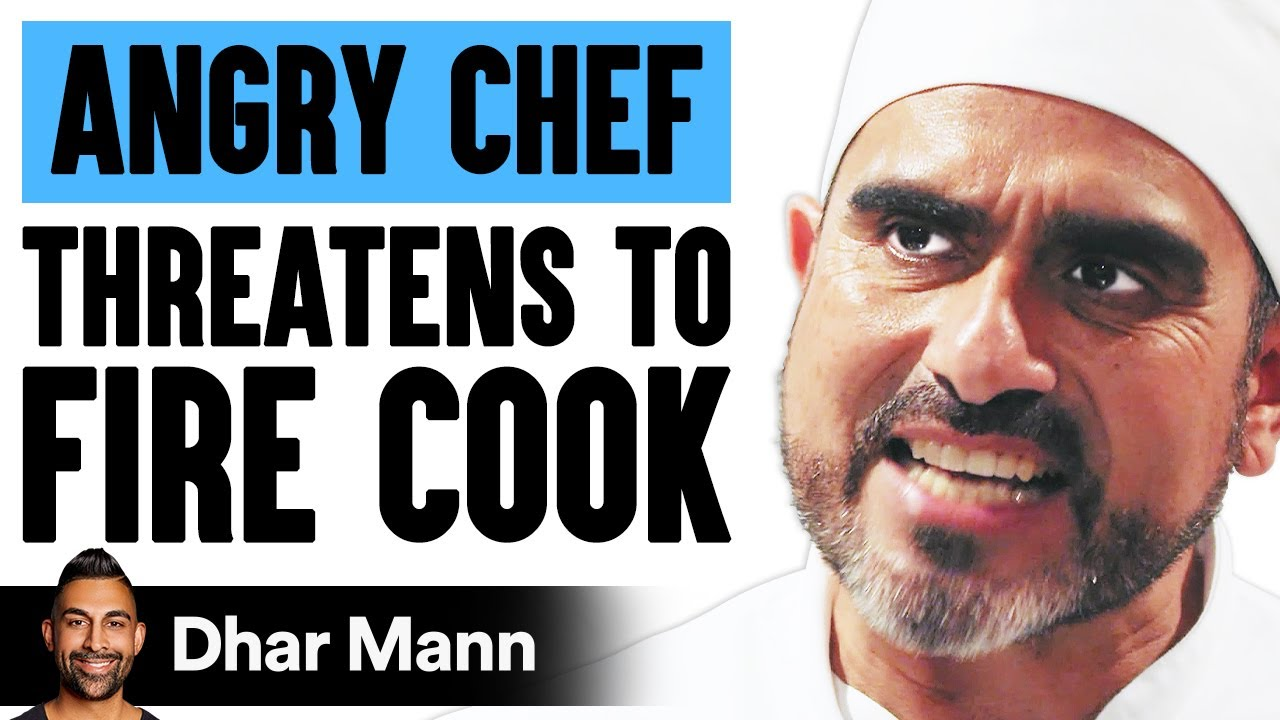 Chef Threatens To Fire New Cook, What Employee Does Will Shock You | Dhar Mann
