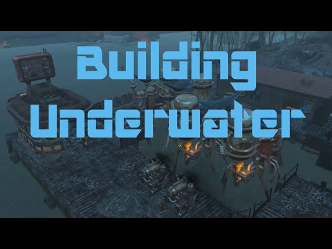 Fallout 4 - How To Build Underwater Platforms