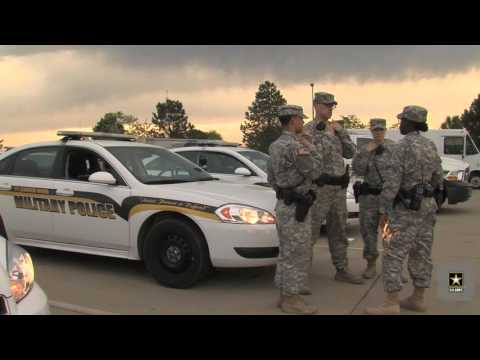 Road To Becoming a 31 Bravo, Military Police