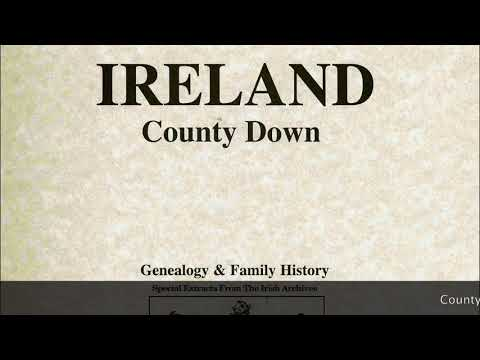 Shaughnessy genealogy; Co. Down Ireland families; Tullamore Bird; Gregory Pecks daughter; IF70