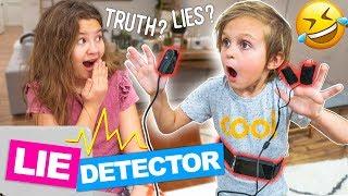 LIE DETECTOR TEST on BIG SISTER!! 😂 | Slyfox Family