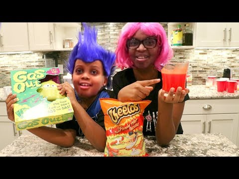 DO NOT JUICE HOT CHEETOS - TOY GAME CHALLENGE - Onyx Adventures