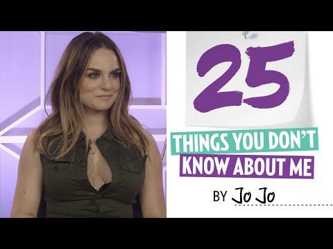 JoJo Doesn't Feel Guilty About Her Pleasures | 25 Things