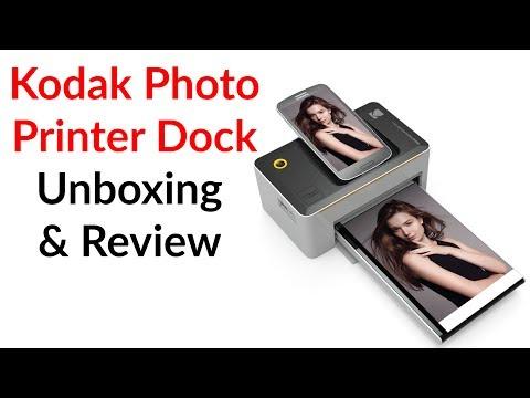 Kodak Photo Printer Dock Unboxing & Review - YouTube Tech Guy