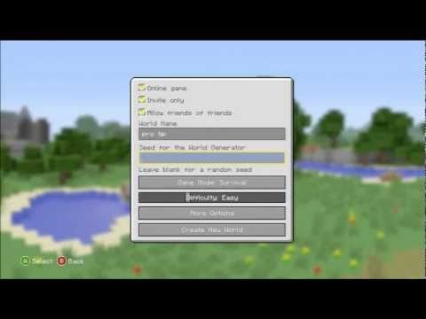Minecraft Xbox 360 + PS3 - BEST SEED TO USE (New Update)