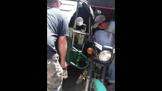 Changing the side car