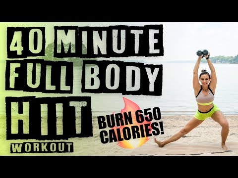 40 Minute Full Body HIIT Workout 🔥Burn 650 Calories! 🔥