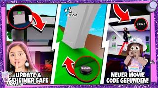 NEUER KINO CODE & NEUER VERSTECKTER SAFE im neuen HAUS in Brookhaven 💜 Alles Ava Gaming