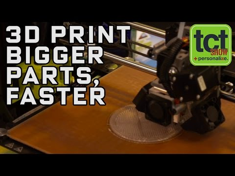 3D print bigger, stronger parts faster with Lulzbot's new toolhead