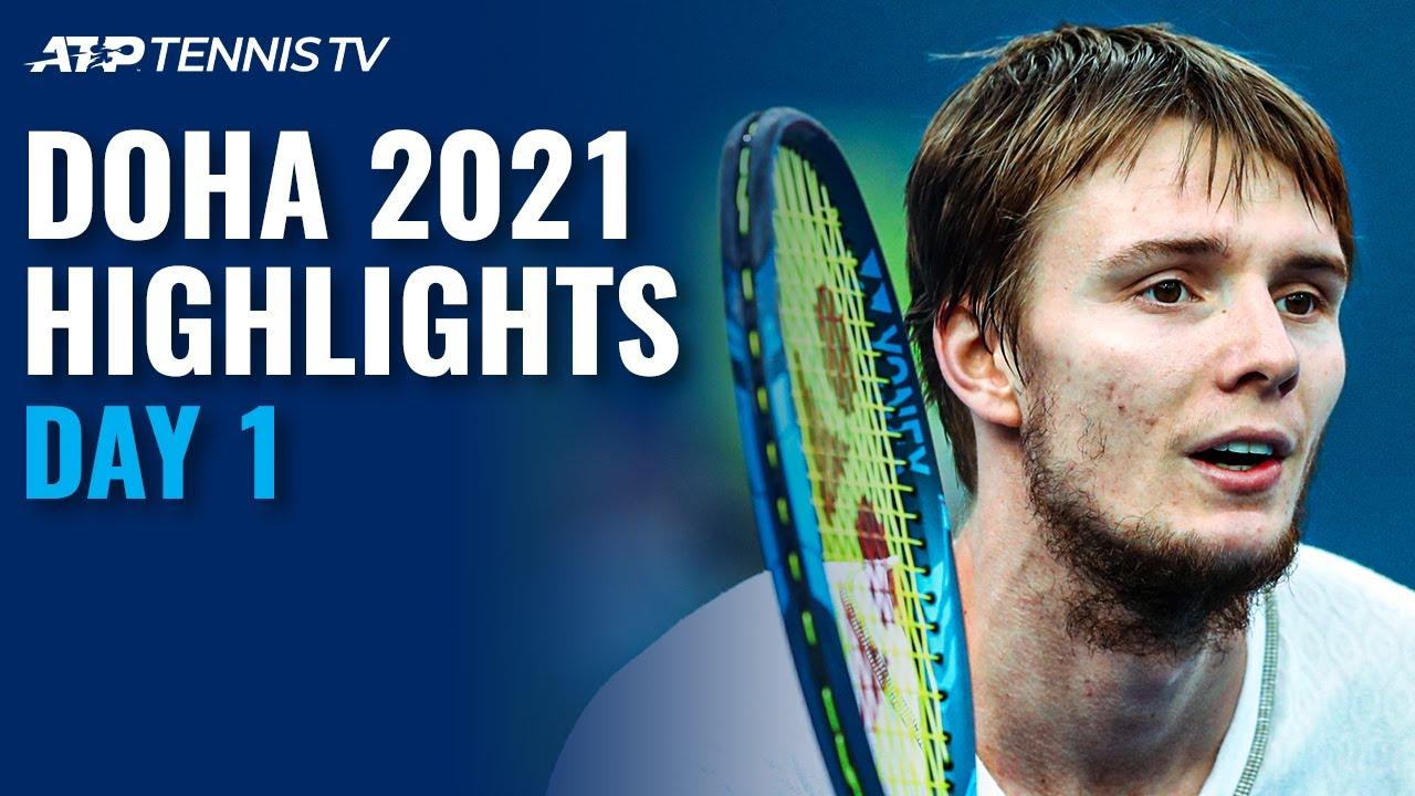 Bautista Agut & Bublik Lead Opening Day | Doha 2021 Highlights Day 1