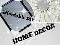 Affordable DIY Home Decor II Using Dollar Tree Items II 2017 II