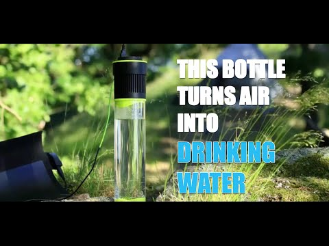 AIRO - This Bottle Turns AIR into Drinking WATER!  #AIRO
