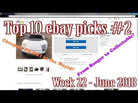 Top 10 Ebay car picks #2 - week 22 2018