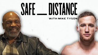 Justin Gaethje Safe Distance With Mike Tyson