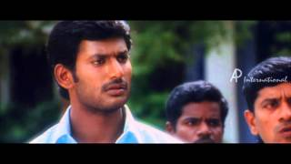 Thamirabharani Tamil Movie | Scenes | Vishal meets Bhanu in her college | Prabhu