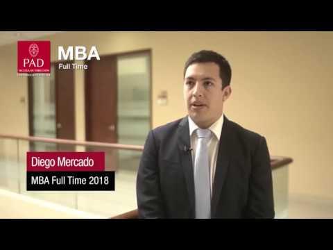 PAD - Testimonios MBA Full Time