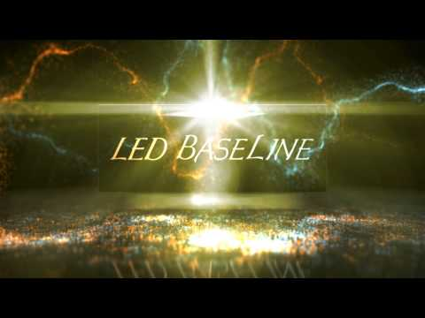 Graphic open for LED Baseline - A L.E.D. liquor shelf company in Denver, Colorado