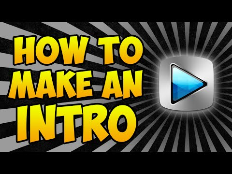 How To Make An Intro With Sony Vegas! Sony Vegas Intro Tutorial! (Simple)