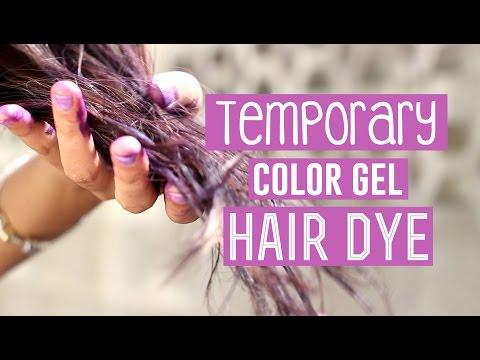 Temporary Purple Color Gel in Dark Hair (FAIL) ■ 1K SUBSCRIBER SPECIAL