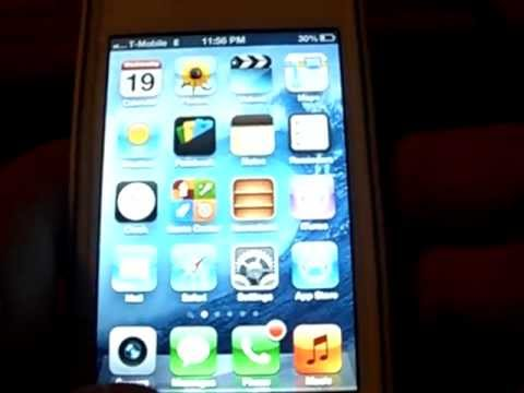 ANY UNLOCKED IPhone MMS fix FOR T-MOBILE on IOS 6 NO JAILBREAK 1st on youtube!!