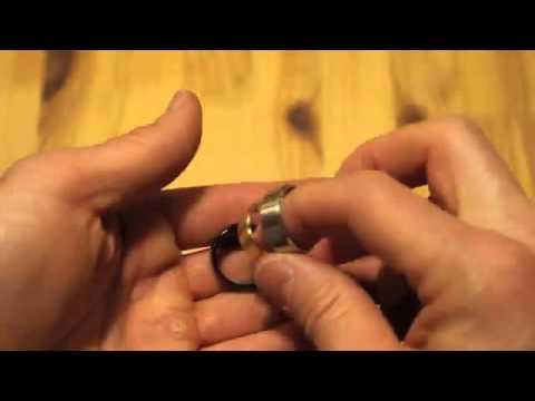 FIBO STEEL 8MM Stainless Steel Rings Review