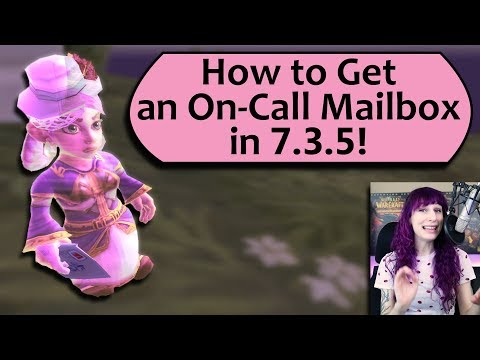 Personal WoW Mailbox! Get the Mailemental Pet, Postmaster Title and Mailbox Toy