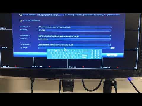 Startup Wizard Walk-Through in DVR/NVR After Firmware Upgrade
