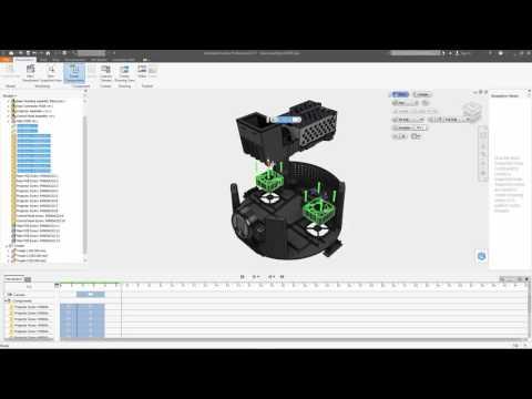 Autodesk Inventor 2017: Presentations Tutorial