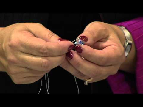 How To Diagonal Weave Using Triangle Beads