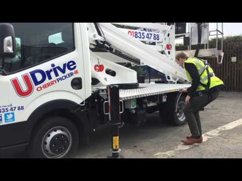 UDrive Cherry Picker Hire