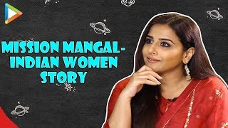 """Vidya: """"This is the STORY of almost every INDIAN WOMAN"""" 