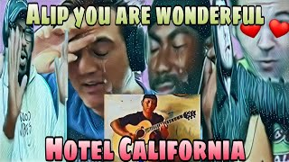 ALIP BA_TA - HOTEL CALIFORNIA ( THE EAGLES ) FINGERSTYLE COVER |  FOREIGN REACTION