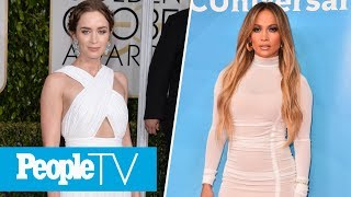 Emily Blunt On 'Mary Poppins Returns,' J.Lo Dishes On Her Love Life | PeopleTV