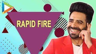 Aparshakti Khurana Hilarious RAPID FIRE on Ranbir, Ranveer, Fatima Sana Shaikh & others