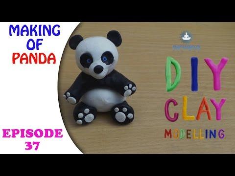 Do It Yourself Clay Art - Panda | Episode 37