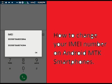 How to change your IMEI number on Android MTK Smartphones