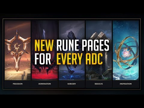 BEST RUNES FOR EVERY ADC   Pre Season 8 - League of Legends