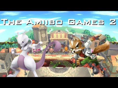 The Amiibo Games 2 - Round 2 Set 5   Espeon (Mewtwo) vs. Furry (Fox)