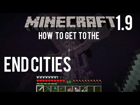 How To Get To The End City In Minecraft 1.9 - Snapshot 15w31a