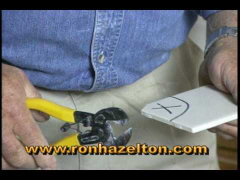 How to Make a Curved Cut in Ceramic Tile