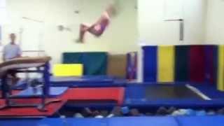 Tsuk on Vault into Pit~ Gymnastics