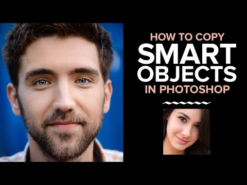 Photoshop Smart Objects: How to COPY a Smart Object