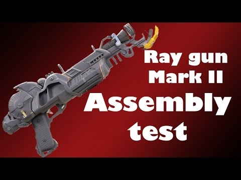 Raygun Mark 2 replica prop build #3 | Assembly